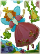 Nursery Baby Fairies Mural Stickers/Decals Wall Border