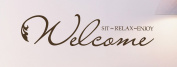 Wallstickersusa Wall Stickers, Welcome Sit Relax Enjoy