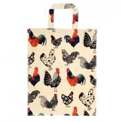 Rooster Medium PVC Bag