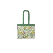 V&A Golden Lily Canvas Shoulder Bag