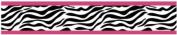 Funky Zebra Baby, Kids and Teens Wall Paper Border by Sweet Jojo Designs