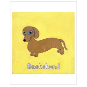 Matthew Porter Art Wall Decor Art Print, Dachshund