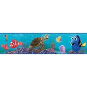 Imperial Disney Home DF059111B Finding Nemo Border, Blue, 17.3cm Wide