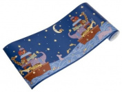 Starry Night Coordinating Wall Border by Kids Line, Resembles Noah's Ark, 10 Yard Roll