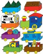 Train Wall Decals / Nursery Stickers