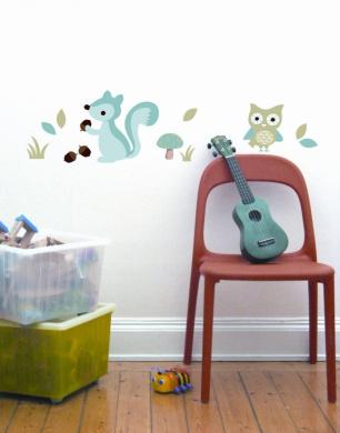 Forest Boy Wall Decal Sticker