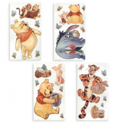 Sandylion Disney Pooh Watercolour Wall Stickers