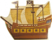Pirate Ship Growth Stick