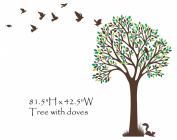 Large Tree Wall Decal Removable Vinyl Sticker Home Decor Nursery Kids Wall Art
