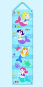 Mermaids - Growth Chart with Tacks and Hanging Ribbon