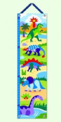 Dinosaurland Collection - Kids Growth Chart w Hanging Ribbon