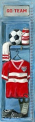 Oopsy Daisy Soccer Locker Growth Chart by Jones Segarra, 30.5cm by 106.7cm
