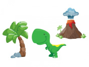 Dinosaur Jumbo Fabric Wall Decals - T-Rex Set
