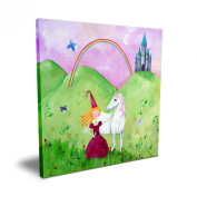 Cici Art Factory 40.6cm x 40.6cm Blonde Haired Princess