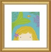 Barewalls Wall Decor by Yuko Lau, Peek A Boo Mermaid