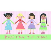 Little Acorn S11W04 Multi Girls-eng.-friends come in all colours