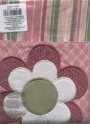 Lil Kids Butterfly Blossoms Window Treatment Valance Pink