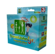 Travel John Jr - Disposable Urinal for Boys and Girls and Adults too!