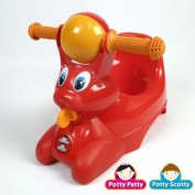 Riding Potty Chair Colour: Red