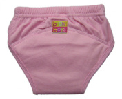 Bright Bots Washable Potty Training Pants with PUL Lining Pale Pink size Extra Large