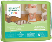 Seventh Generation Baby Free and Clear Training Pants 3T-4T -- 22 Pants
