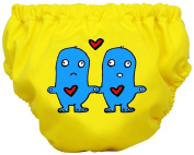 Charlie Banana Swim Nappy & Training Pants - Lovey & Dovey - Size Large