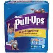 Huggies Pull-Ups Training Pants - Learning Designs Mega Pack Size 4T-5T Boy 32ct