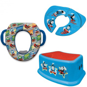 Thomas and Friends Soft Potty Seat Travel Potty Seat and Step Stool Combo Set  sc 1 st  Fishpond & Thomas Toilet Seat Baby: Buy Online from Fishpond.com.au islam-shia.org