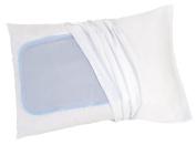 Slumber Ease Refreshing Pillow Pad Cover, Grey, 11.8 X 15.75