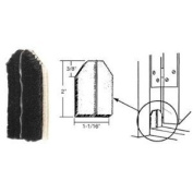 CRL Black Door Jamb Dust Pads - 10 Pack