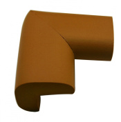 Chuzhao Wu Brown Baby Or Kids Desk Corner Table Corner Softener Cushion Edge Protector Extra Thickness