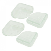 Amico 4 Pcs Baby Children Desk Table Safety Security Corner Protector