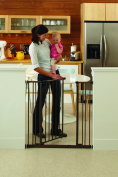 North States Supergate Extra Tall Easy Close Gate, Bronze