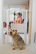Bettacare Child and Pet Gate, 75-83 x 104 cm, White