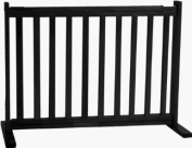 Dynamic Accents 42404 - 50.8cm All Wood Small Free Standing Gate - Black