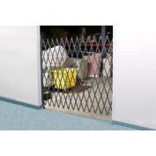 Single Folding Security Gate 6-1/2' X 8'