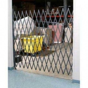 Single Folding Security Gate 7-1/2' X 8'