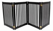 Dynamic Accents Four Panel EZ Pet Gate - Large/Artisan Bronze 42623