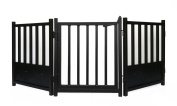 Royal Weave 3pc Freestanding Walk-thru Pet Gate