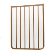 Cardinal Gates Extension for Outdoor Child Safety Gate, Brown, 54.6cm