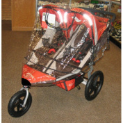 Sashas Rain and Wind Cover for B.O.B Revolution SE 2011/Stroller Strides Fitness Duallie Stroller