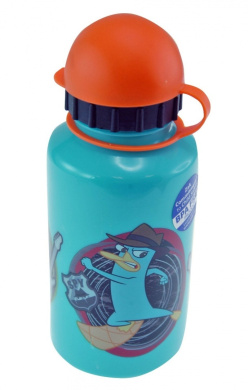 Phineas & Ferb 350ml Ponderay Water Bottle
