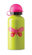 Crocodile Creek 300ml Stainless Steel Drinking Bottle - Pink Butterfly --