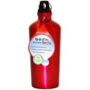 Pink Ripple Aluminium Water Bottle