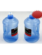 (2 Pack) 950ml Durable Plastic Water Bottle / Jug with Sports Cap