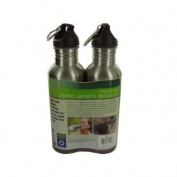 Stainless Steel Sports Bottle Set 1Pc
