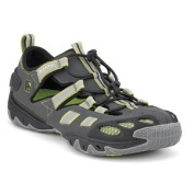 Sperry Top-Sider SON-R Ping Bungee Water Shoe - Men's Grey/Green, 7.5 M US