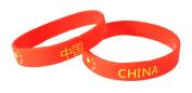 China Silicone Wristband