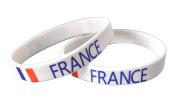 France - Silicone Wristband