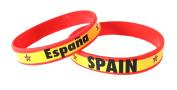 Spain Espania - Silicone Wristband